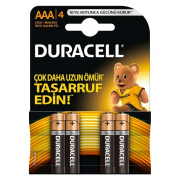 DURACELL INCE PIL 4LU