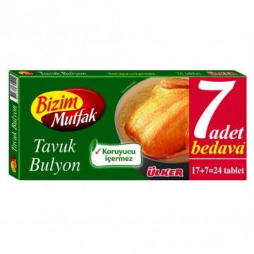 ULKER BIZIM BULYON TAVUK 24LU