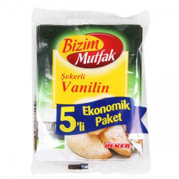 ULKER BIZIM SEKERLI VANILIN...
